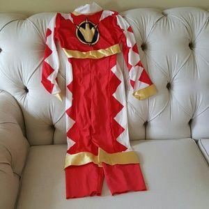 Halloween Costume Red Power Ranger